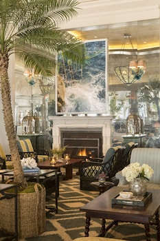 Lobby Sitting Area at Casa Del Mar in Santa Monica