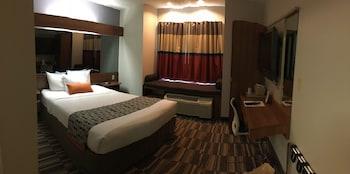 Guestroom at Microtel Inn & Suites by Wyndham Philadelphia Airport in Philadelphia