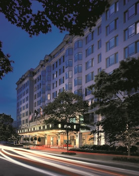 Hotel Front - Evening/Night at Fairmont Washington, D.C., Georgetown in Washington
