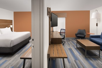 Guestroom at Holiday Inn Express & Suites College Park-University Area in College Park