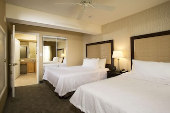 Suite, 2 Double Beds, Fireplace