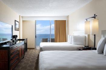 Premier Room, 2 Double Beds, Oceanfront