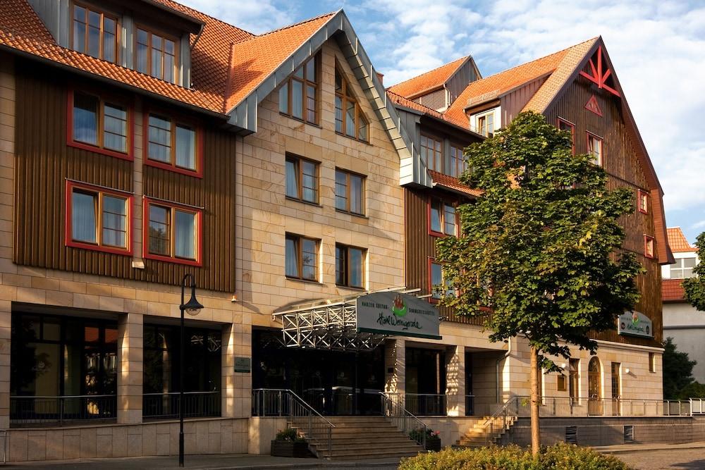 하르처 쿨투어- & 콩그레스호텔 베르니게로데(Harzer Kultur- & Kongresshotel Wernigerode) Hotel Image 40 - Hotel Front