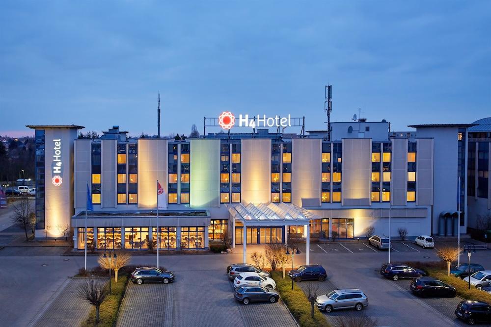 H4 호텔 라이프치히(H4 Hotel Leipzig) Hotel Image 14 - Hotel Front - Evening/Night