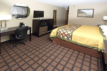 Guestroom at Super 8 by Wyndham Chesapeake/Portsmouth in Chesapeake
