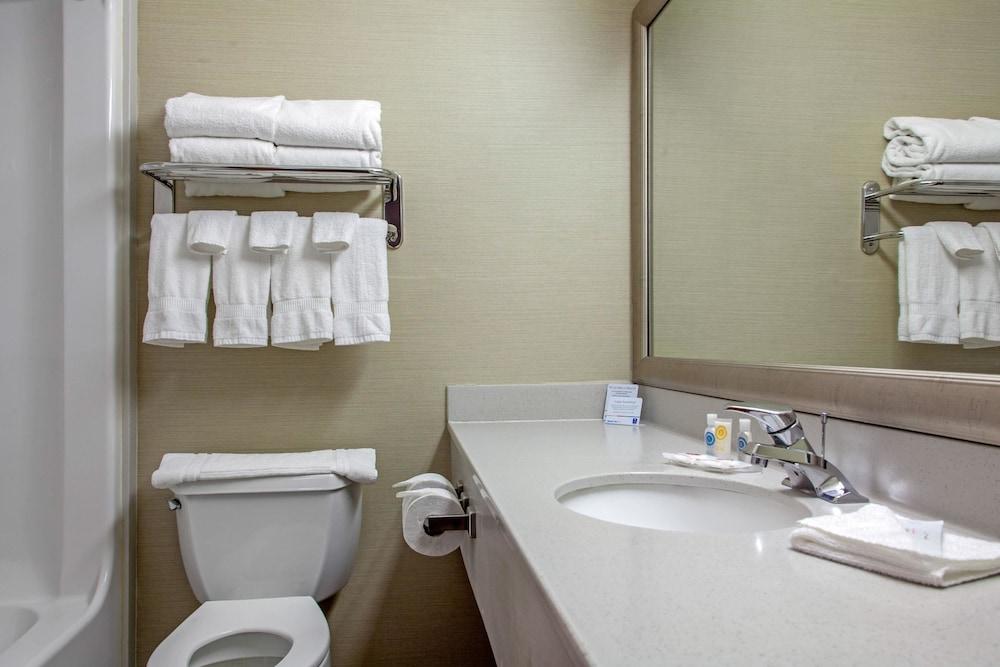 컴포트 인 & 스위트(Comfort Inn And Suites) Hotel Image 23 - Bathroom