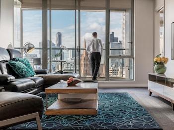 Premium Apartment, 3 Bedrooms, Balcony (Floors 16-26, Kitchen)