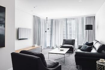 Premium Apartment, 2 Bedrooms, Balcony (Floors 16-26, Kitchen)