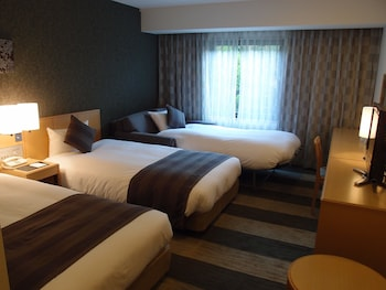 トリプルルーム|22㎡|ホテルグランヴィア和歌山