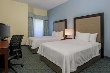 Suite, 2 Double Beds, Accessible, Non Smoking (Roll-in Shower)