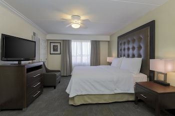 Guestroom at Homewood Suites by Hilton Ft. Worth-North at Fossil Creek in Fort Worth