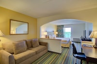 Suite, 1 King Bed with Sofa bed (Water View)