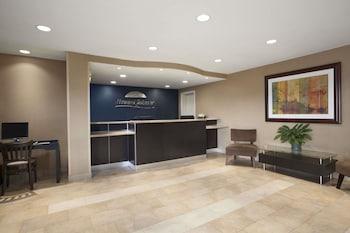 Lobby at Howard Johnson by Wyndham San Diego Sea World in San Diego
