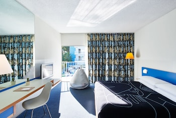 Guestroom at The Standard Hollywood in West Hollywood