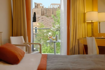 Superior Double or Twin Room (Acropolis View)