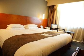 ハリウッドダブル 禁煙 ベッド幅200cm 博多エクセルホテル東急