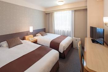 エコノミー ツインルーム 喫煙可|18㎡|松山東急REIホテル