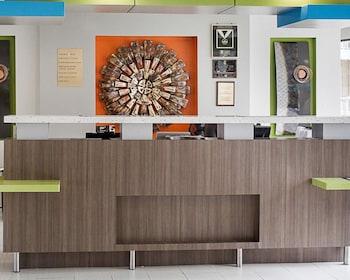 Lobby at Quality Inn & Suites Oceanfront in Virginia Beach