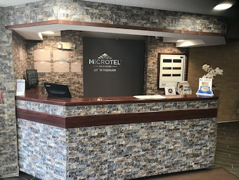 Concierge Desk at Microtel Inn & Suites by Wyndham BWI Airport Baltimore in Linthicum Heights