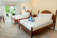 Room, 2 Double Beds, Balcony, Beachfront