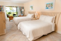 Room, 2 Double Beds, Terrace, Beachfront
