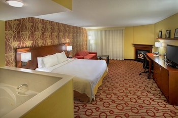 Presidential Suite, 1 King Bed with Sofa bed, Fireplace (Junior)