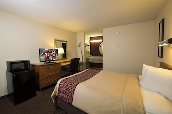 Guestroom at Red Roof Inn Virginia Beach - Norfolk Airport in Virginia Beach