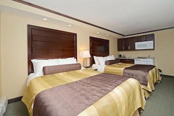 Efficiency, Standard Room, 2 Queen Beds, Kitchenette