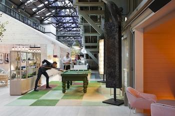Lobby at Ovolo Woolloomooloo in Woolloomooloo