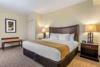 1 Bedroom Suite, 1 King Bed, 2 Bathrooms, Accessible (Accessible Tub)