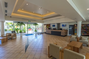 Lobby Sitting Area at Alpha Sovereign Hotel in Surfers Paradise