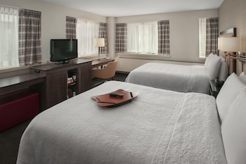 Suite, 2 Double Beds, Accessible (Roll-In Shower)