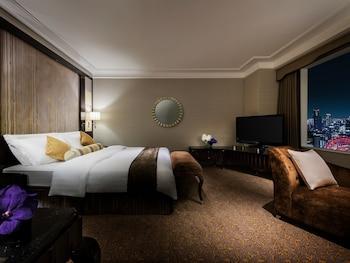 Deluxe Tek Büyük Yataklı Oda, Sigara İçilmez (high Floor, Luxury)