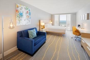 Room, 1 King Bed, Balcony, Oceanfront