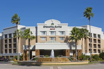 Exterior at SpringHill Suites Orlando Lake Buena Vista Marriott Village in Orlando