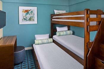 Guestroom at Fairfield Inn & Suites Lake Buena Vista in Marriott Village in Orlando