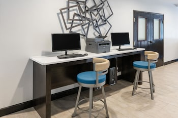 Business Center at Hawthorn Suites by Wyndham DFW Airport North in Irving