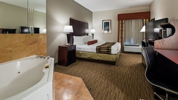 Standard Room, 1 King Bed, Non Smoking, Jetted Tub
