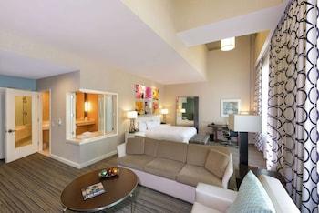 1 King Whirlpool Loft Suite
