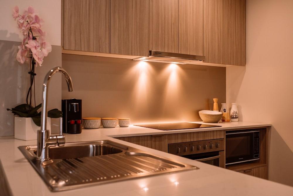 퀘스트 플레밍턴(Quest Flemington) Hotel Image 13 - In-Room Kitchen