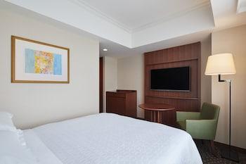 スタンダード ルーム ダブルベッド 1 台 シティビュー|横浜ベイシェラトン ホテル & タワーズ