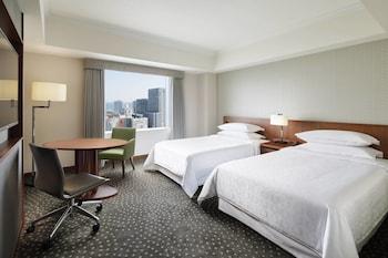 ラグジュアリー ルーム シングルベッド 2 台|横浜ベイシェラトン ホテル & タワーズ