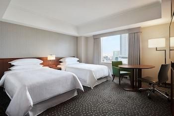 ルーム シングルベッド 2 台 禁煙 シティビュー|横浜ベイシェラトン ホテル & タワーズ