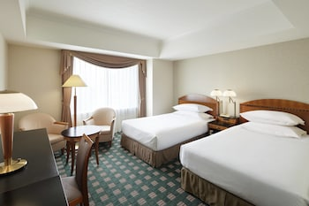 スタンダード ルーム シングルベッド 2 台 シティビュー|横浜ベイシェラトン ホテル & タワーズ