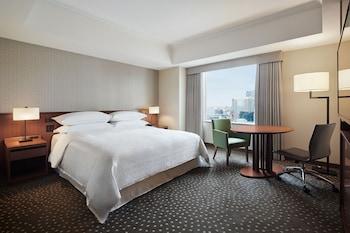 ルーム キングベッド 1 台 禁煙 シティビュー|横浜ベイシェラトン ホテル & タワーズ