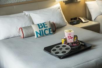 Guestroom at Universal's Hard Rock Hotel ® in Orlando