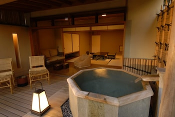 Japanese Style Room with Open-air Bath, SUZUKAKE