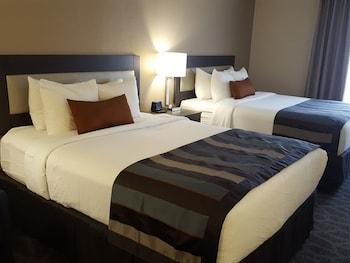 Standard Room, 2 Queen Beds, Refrigerator & Microwave