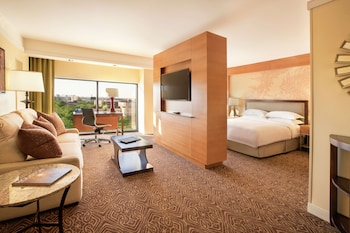 Junior Suite, 1 King Bed with Sofa bed