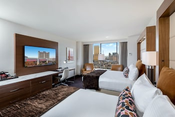 Guestroom at Palace Station Hotel and Casino in Las Vegas